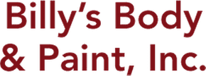 Logo, Billy's Body & Paint, Inc.